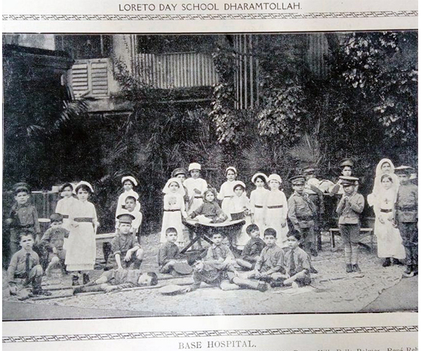 Loreto Day School, Dharamtala – Base Hospital (1917)